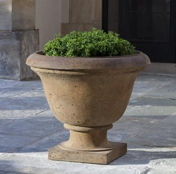 Photo of Campania Rustic Greenwich Urn - Marquis Gardens