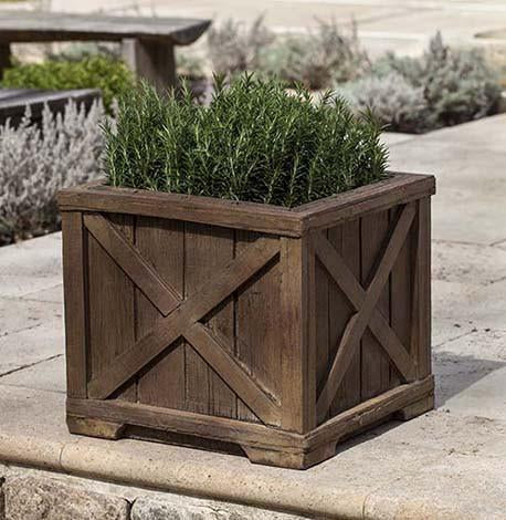 Photo of Campania Rustic Versaille Planter - Marquis Gardens