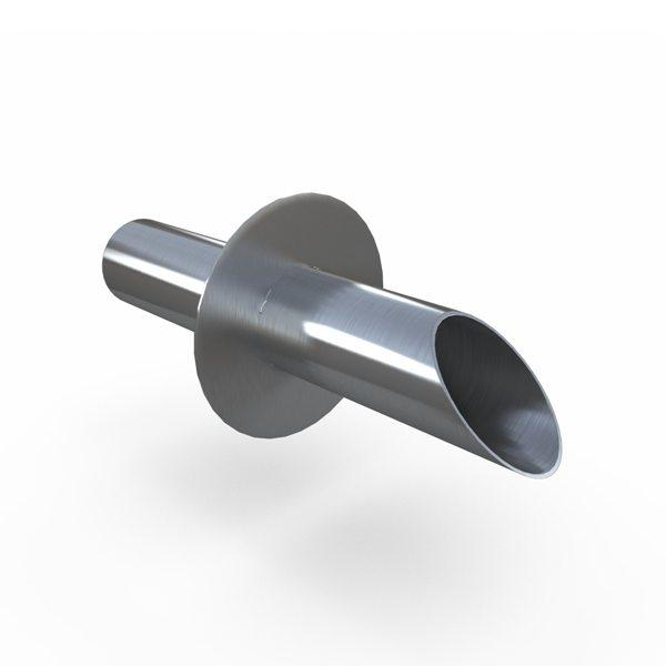 Stainless Steel Round Wall Scupper
