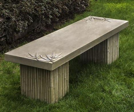 Photo of Campania Sagano Bench - Marquis Gardens
