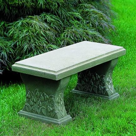 Photo of Campania Snowdrop Bench - Marquis Gardens