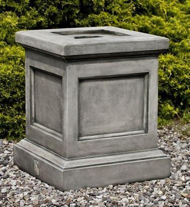 Photo of Campania St. Louis Pedestal - Marquis Gardens