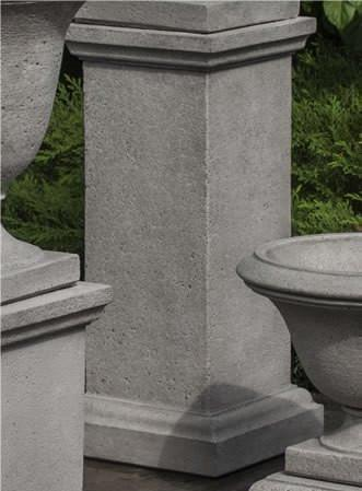 Photo of Campania Tall Wolcott Pedestal - Marquis Gardens
