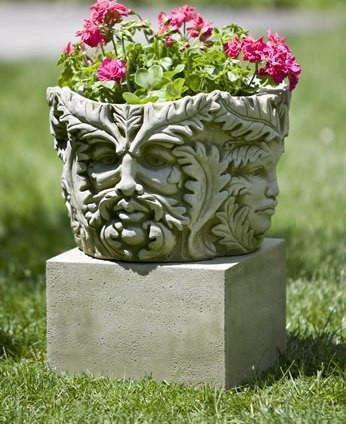 Photo of Campania Textured Low Sq Pedestals - Marquis Gardens