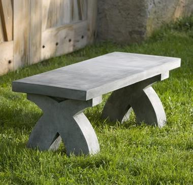 Photo of Campania The X Bench - Marquis Gardens