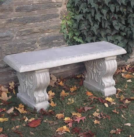 Photo of Campania Traditional Straight Bench - Marquis Gardens