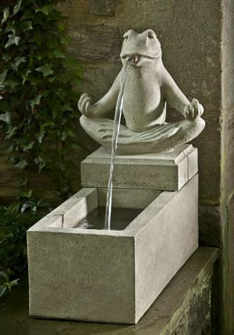 Photo of Campania Zen Plinth Fountain - Marquis Gardens