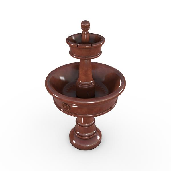 Gardenstone Carerra Fountain Water Fountains Gardenstone Rust Fountain