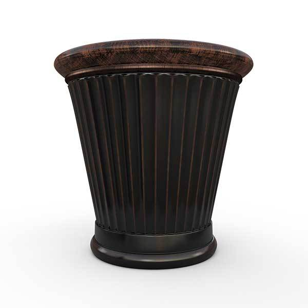 Gardenstone Colonnade Planters Gardenstone Copper Black Small