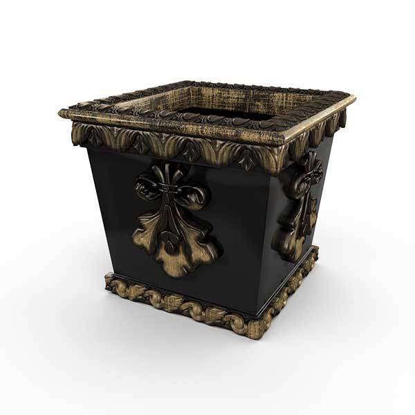 Gardenstone Pan's Pleasure Planters Gardenstone Golden Black