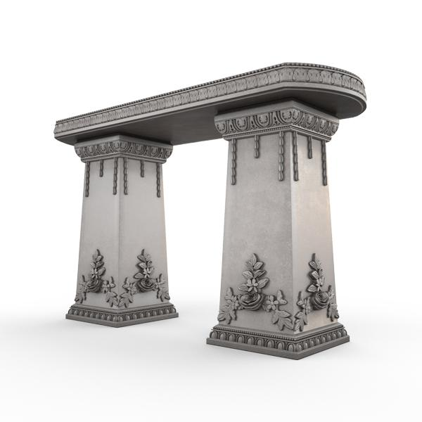Gardenstone Side Table Benches Gardenstone Old Roman Side Table