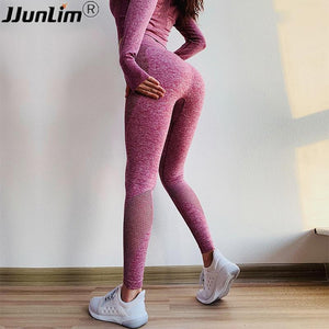 4be8aa99a05a Women Yoga Pants Sport Leggings Gym Tight Women Seamless Leggings for  Fitness Push Up Sport Trouser Elastic Workout Running Pant