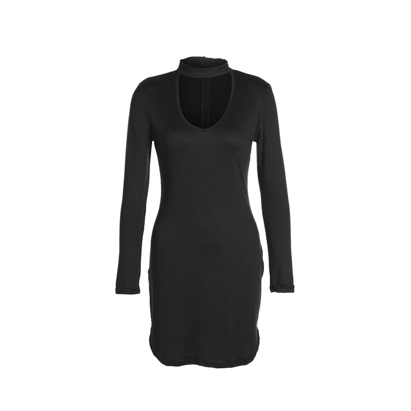 ac37675833a ... Load image into Gallery viewer, New 2018 Women Bandage Bodycon Long  Sleeve Party Cocktail Club ...