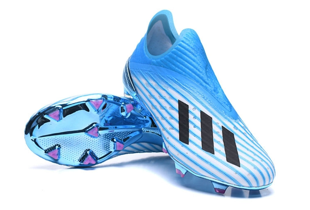Adidas X 19+ FG/AG Hard Wired - Bright Cyan/ Core Black/ Shock Pink