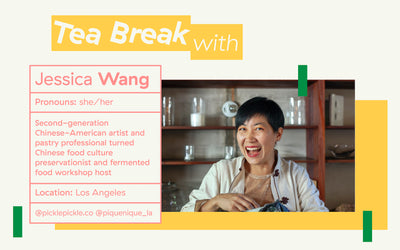 Three Gems Tea Break with: Jessica Wang, Fermentation Educator + Chinese Food Culture Preservationist