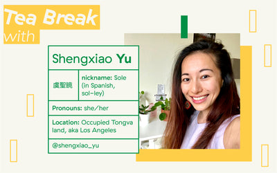 Three Gems Tea Break with: Shengxiao (Sole) Yu, Social Justice Educator & Community Advocate