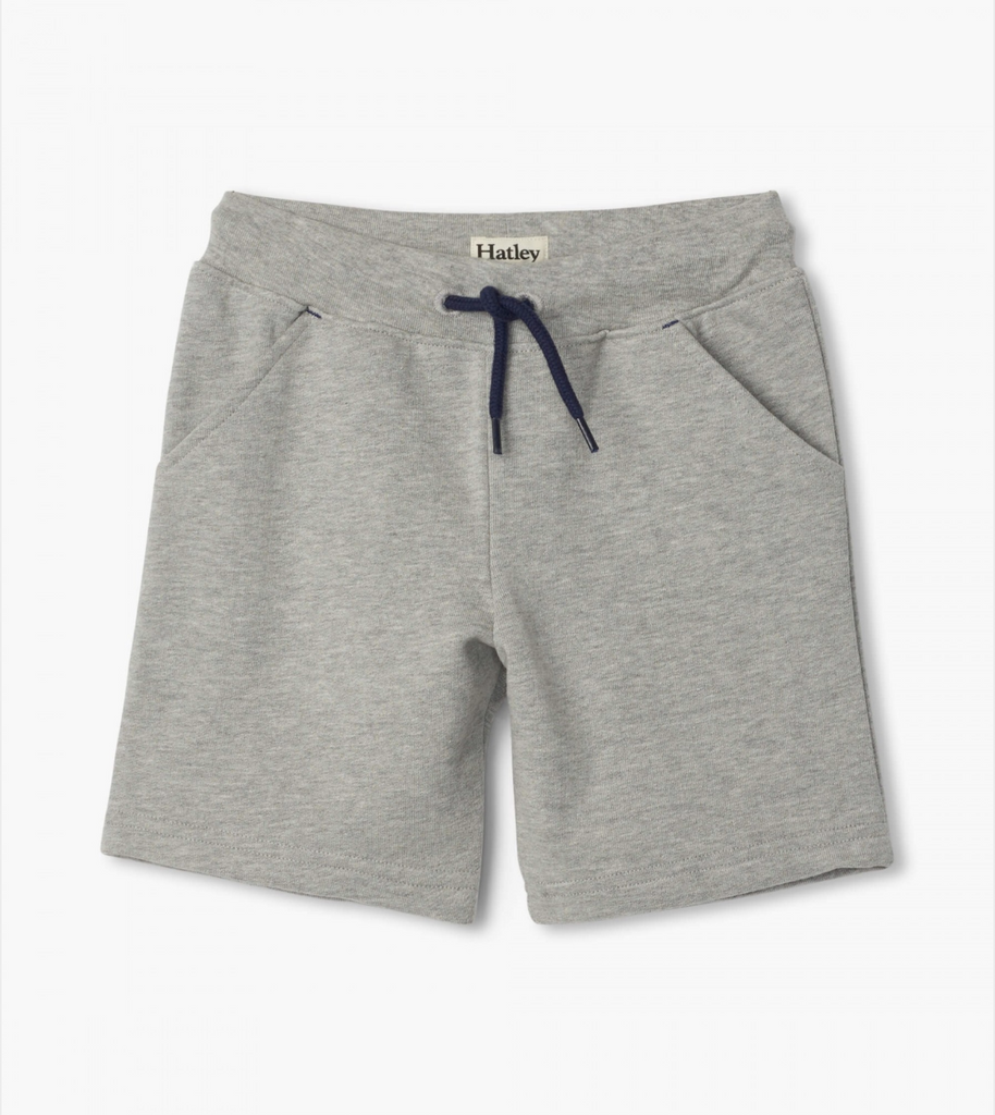 Athletic Grey Terry Shorts