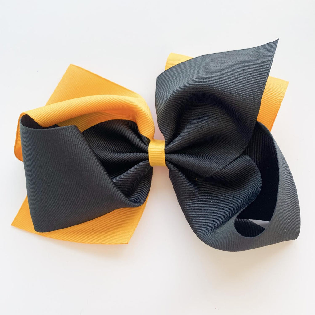 Black & Gold Bow