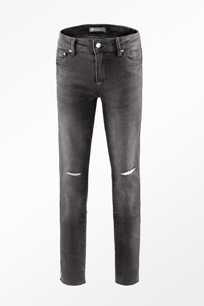 Black Washed Diane Jeans
