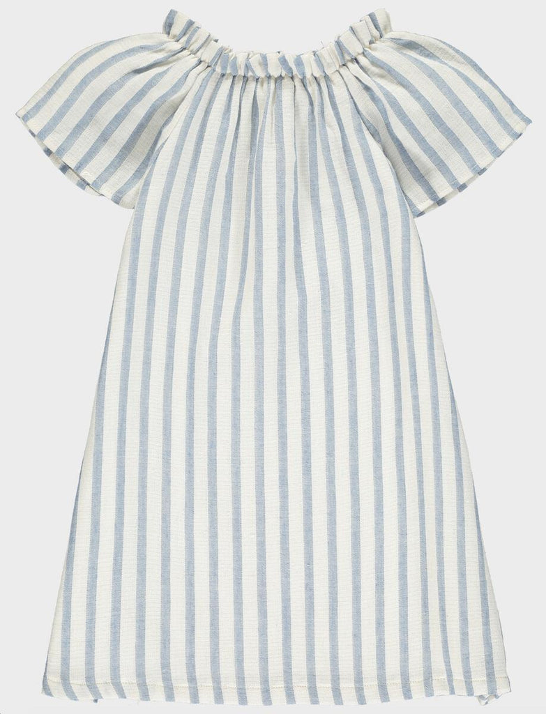 Blue Stripe Fern Dress