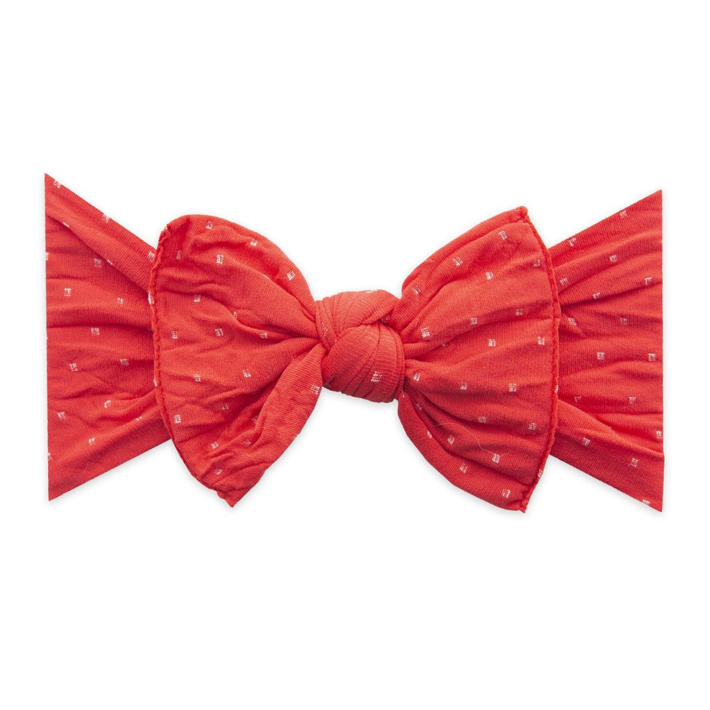 Cherry Dot Knot Bow