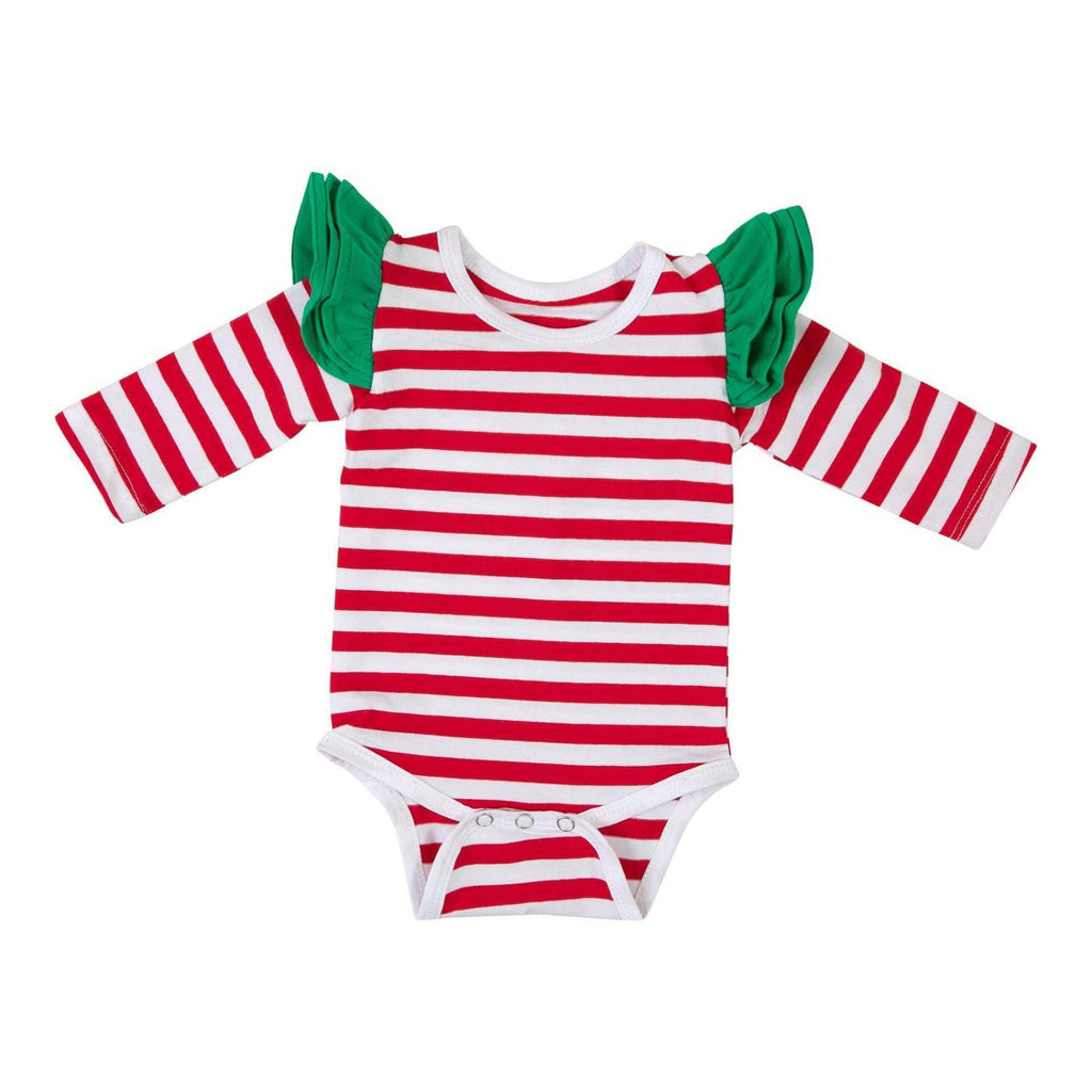 Christmas Stripe Bodysuit