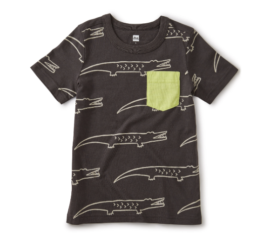 Crocodile Pocket Tee