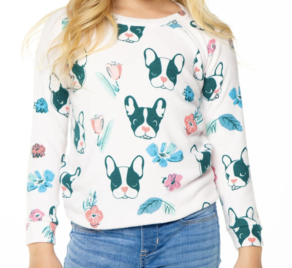 Dogs And Flowers Charity Sweatshirt