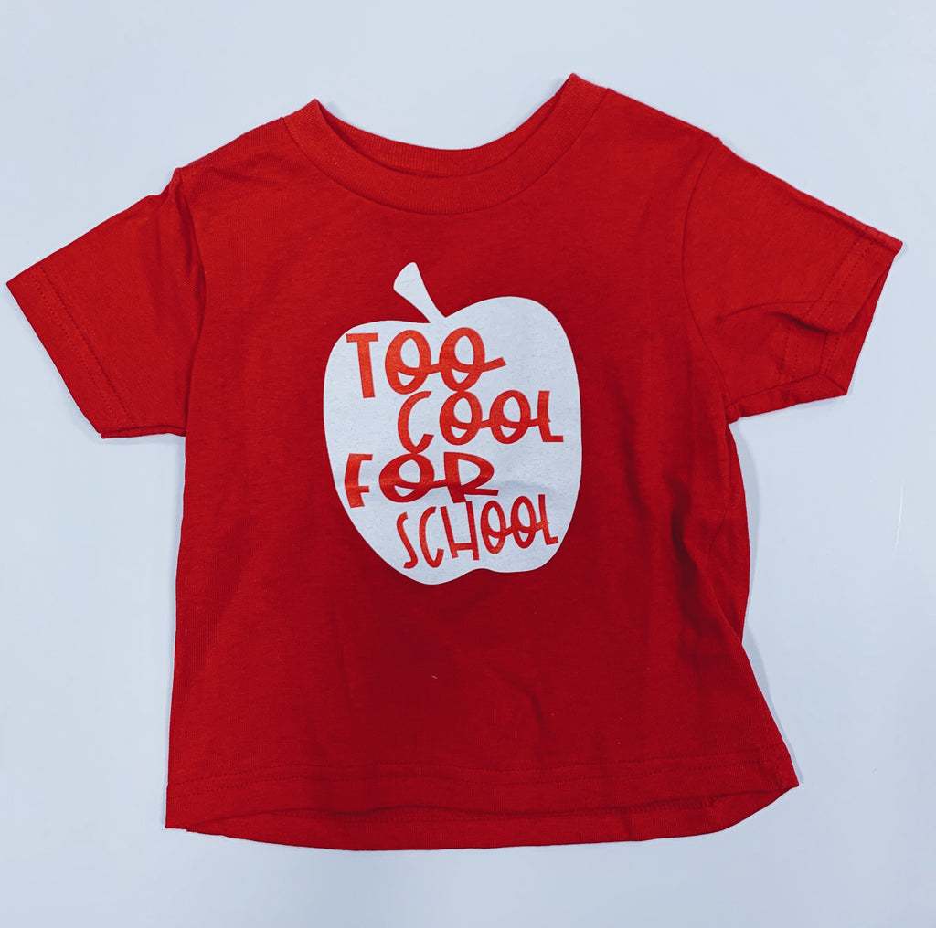 Too Cool For School Tee