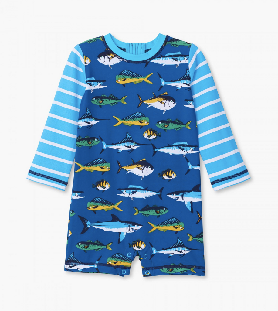 Game Fish One Piece Rashguard