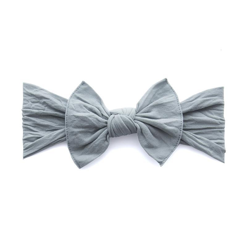 Grey Knot Bow