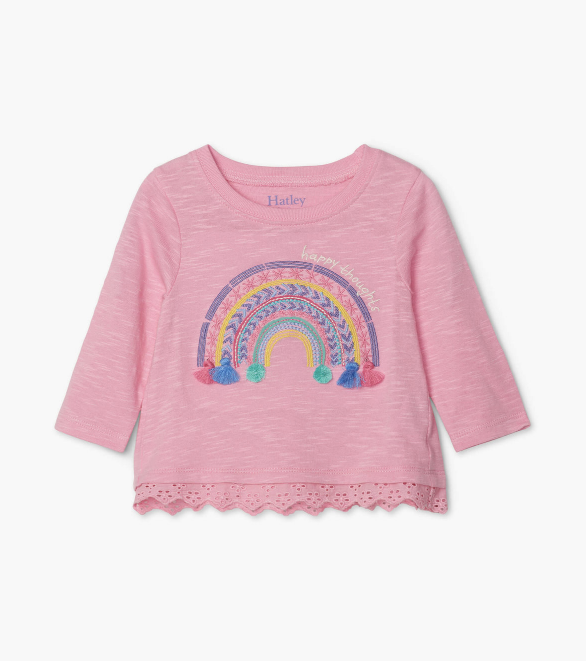 Hatley: Delightful Rainbow Top