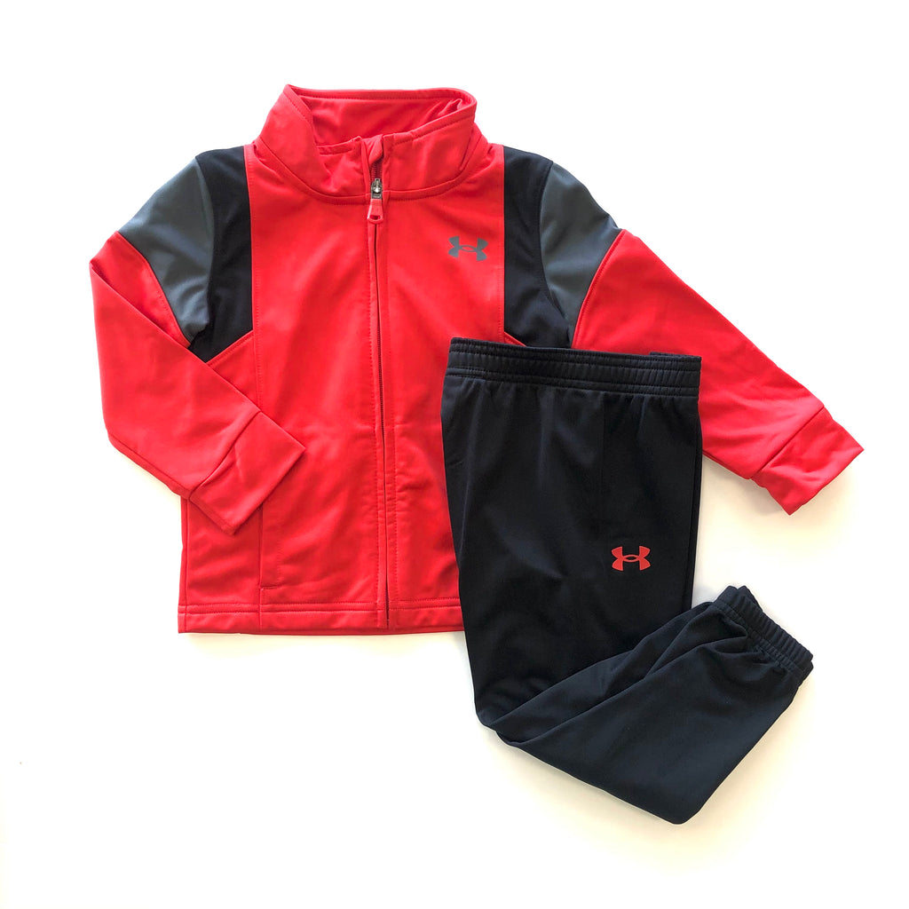 Under Armour: Red Color Block Set
