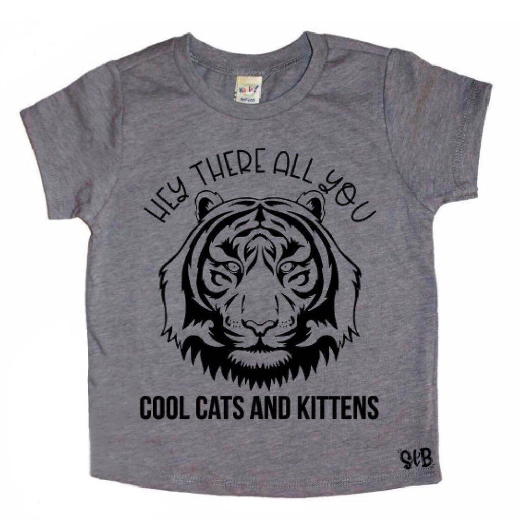 Cool Cats and Kittens Tee