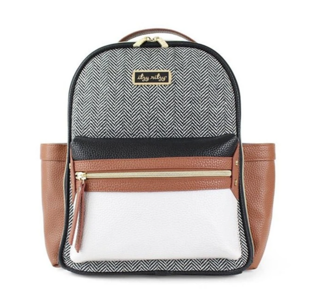 Itzy Ritzy: Coffee & Cream Mini Backpack