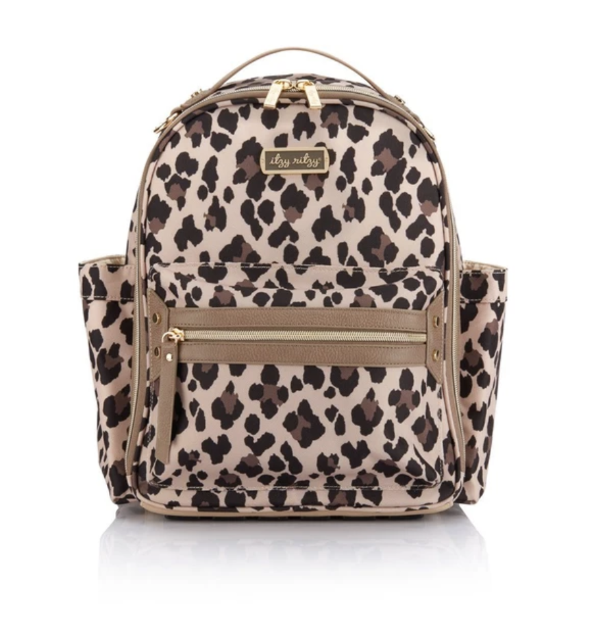 Itzy Ritzy: Leopard Mini Backpack