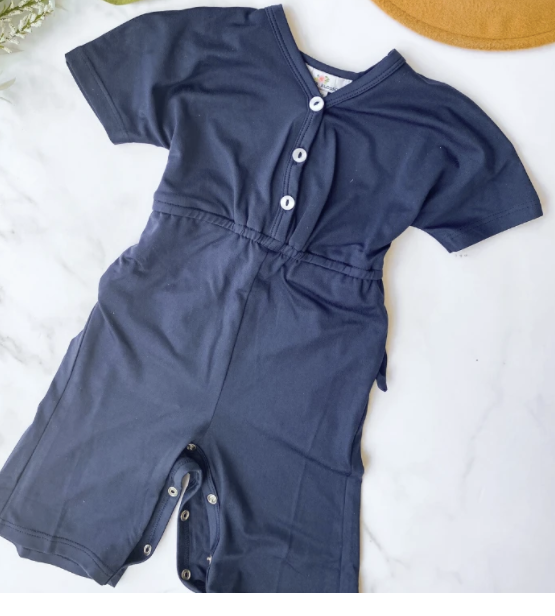 Jenna Blue Sails Athleisre Jumpsuit