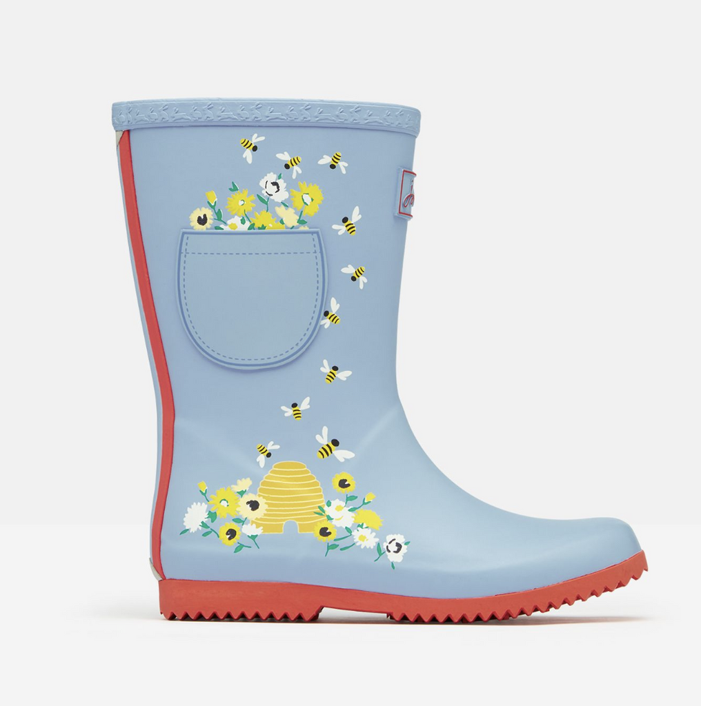 Joules: Blue Bees Rainboots