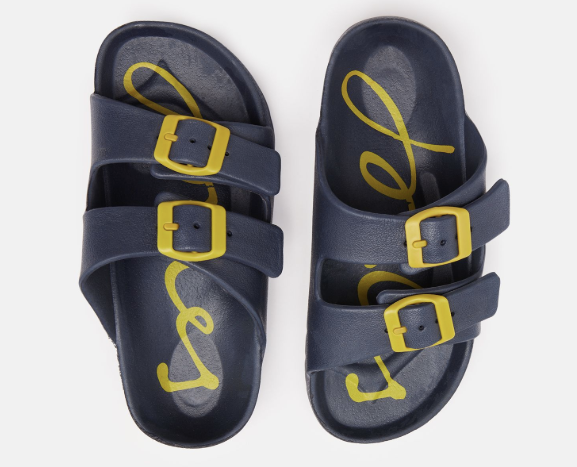 Joules: French Navy Buckle Slides
