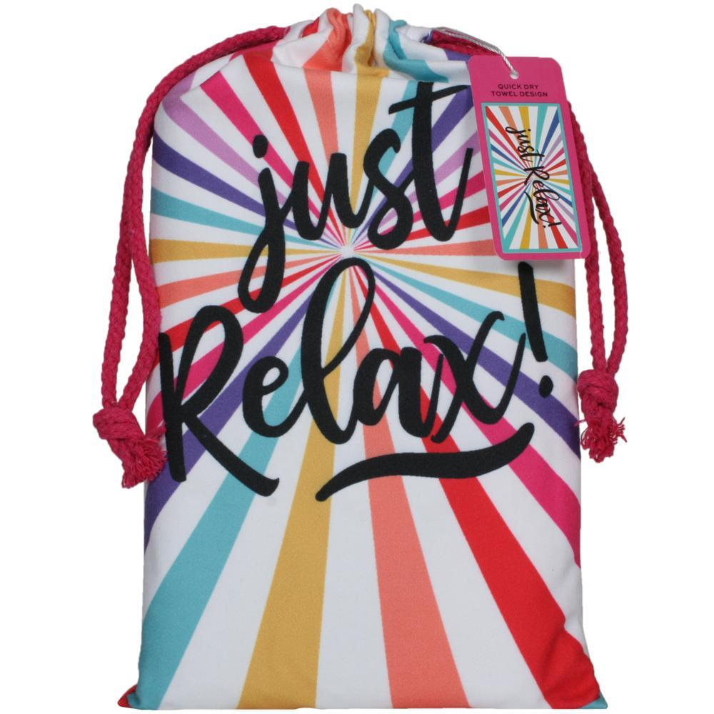 Just Relax Beach Towel