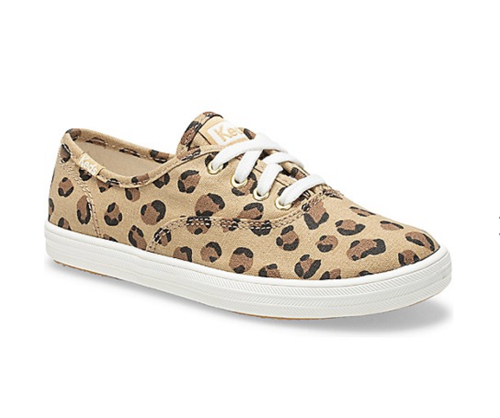 Keds: Champion Leopard Sneakers