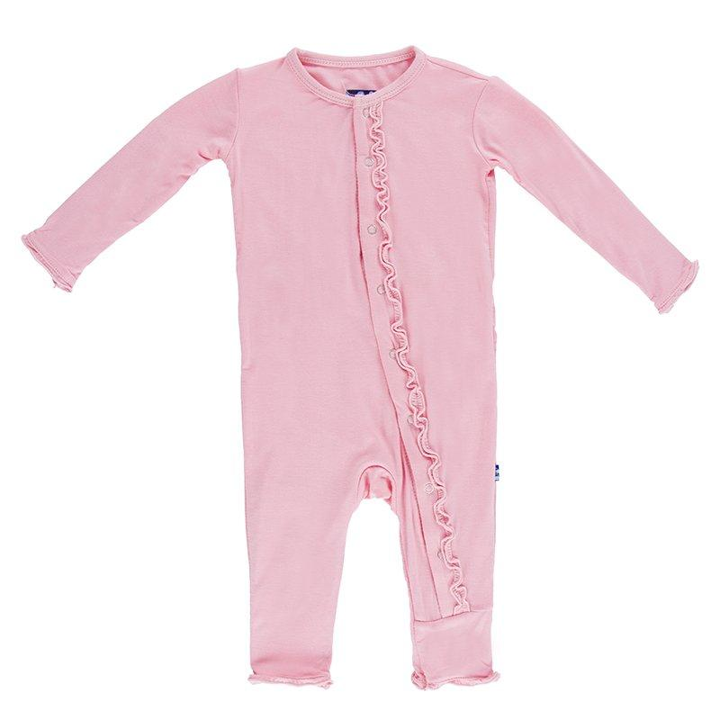 KicKee Pants: Lotus Muffin Ruffle Coverall
