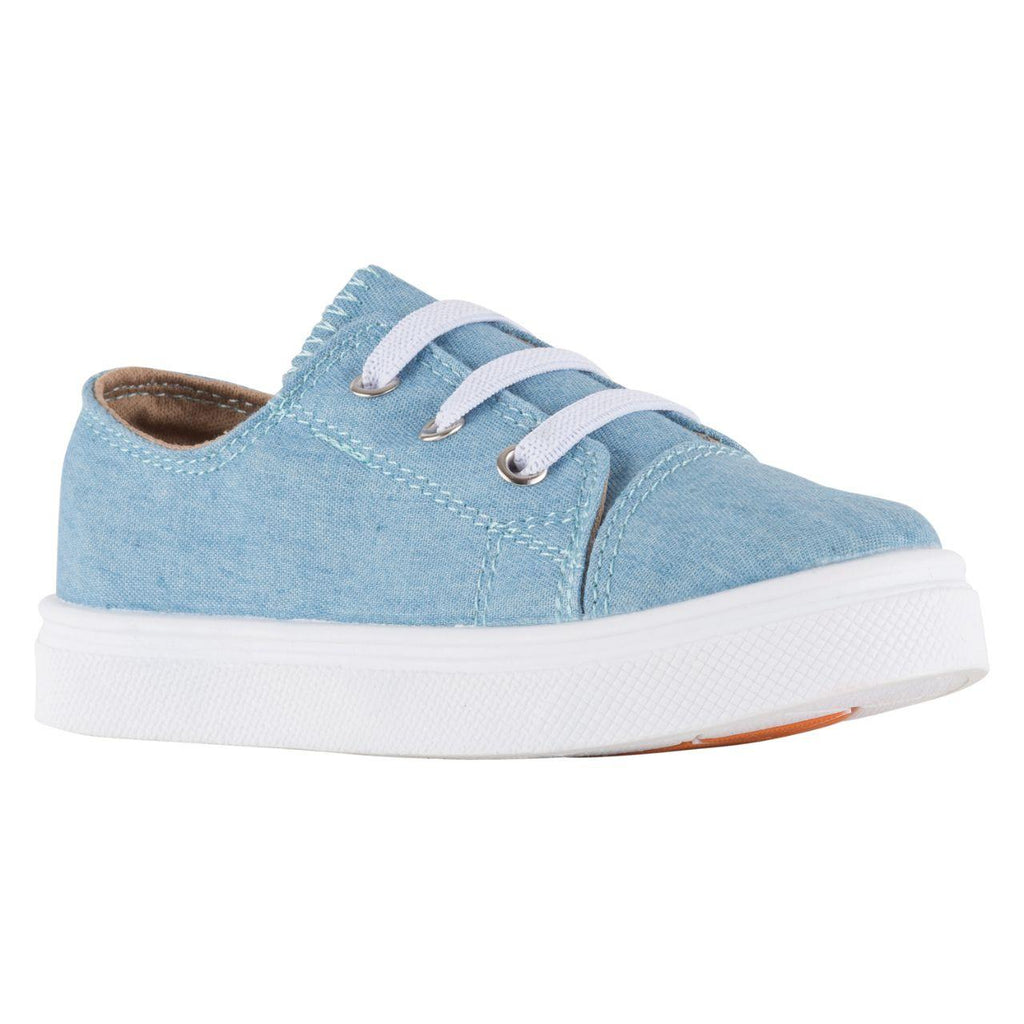 Light Blue Dynamo Sneakers