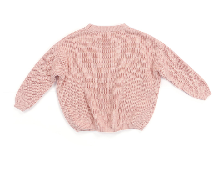 Light Pink Chunky Sweater