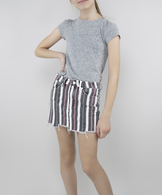 Lisa Stripe Skirt