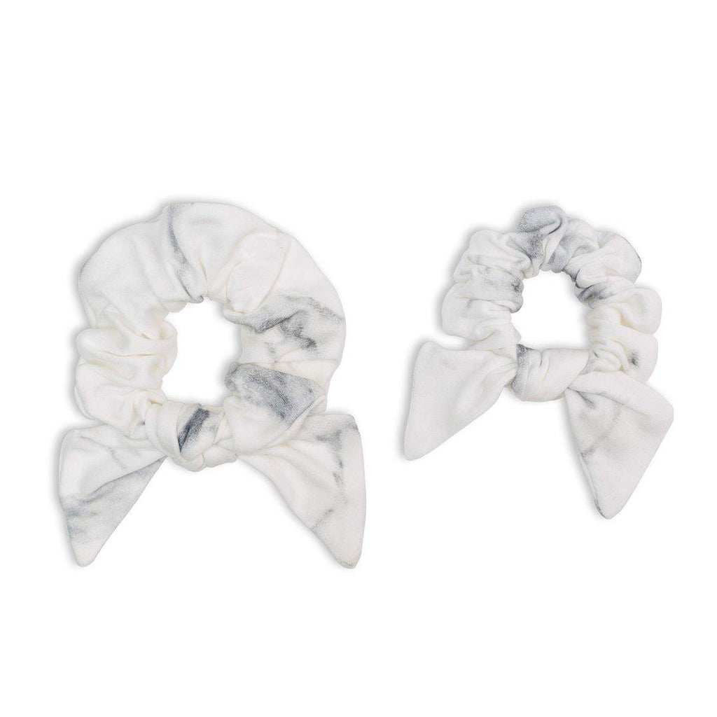 Mommy & Me Marble Scrunchies