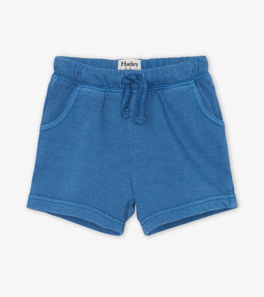 Moroccan Blue Cotton Shorts