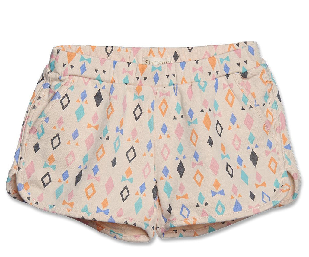 Multi Diamond Gym Shorts
