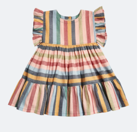 Pink Chicken: Stripe Kit Dress