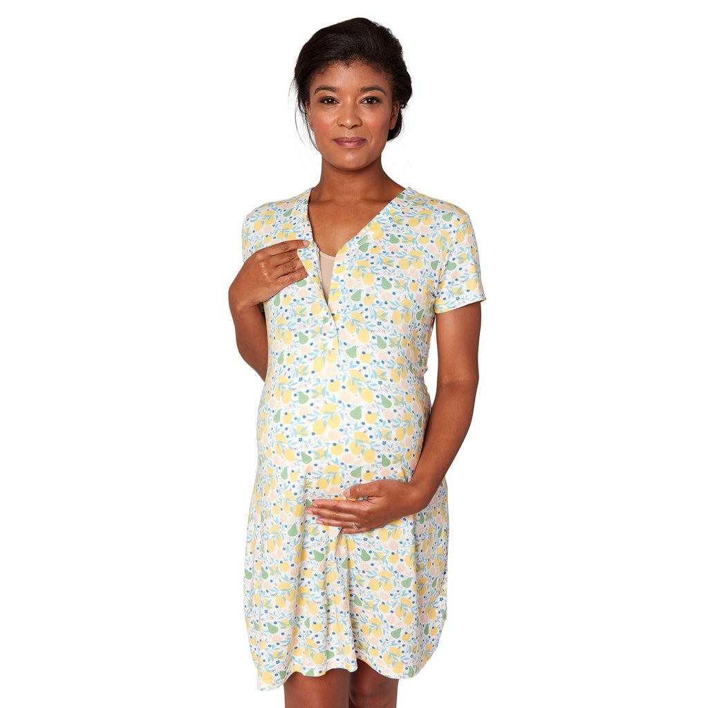 Magnetic Me: Citrus Bloom Nursing Gown